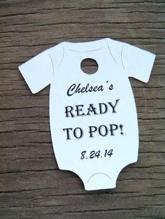 Thank you for helping us welcome our sweet baby into this world shes ready to pop gift tags baby onesie gift tags baby shower tags 10 tags 2 12 multiple colors to choose negle Image collections