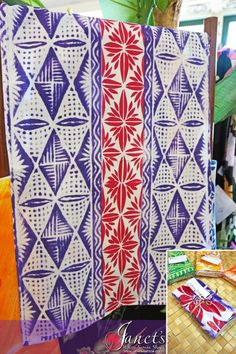 Janet's - Pacific Tea Towels T107, 13.50 AUD (http://www.janetssamoa.com/pacific-tea-towels-t107/)      Made from high grade cotton/linen     Block printed with Samoan and Pacific Island Imagery and Patterns     Samoa Pure - Made in Samoa exclusively for Janet's