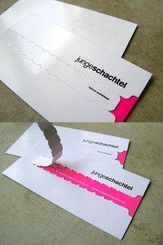 Junge Schachtel Unique Business Card