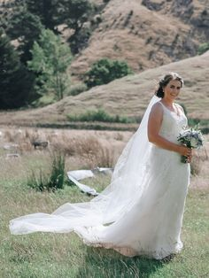 """""""I loved how my gown went from detailed lace at the top to a softer fabric at the bottom. and the back of the dress was beautiful as well. Soft Fabrics, Wedding Gowns, Tulle, Bride, Princess, Lace, Skirts, Beautiful, Fashion"""