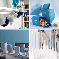 24 Hanukkah Crafts and DIY Menorahs