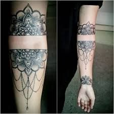 Image result for mandala forearm tattoo