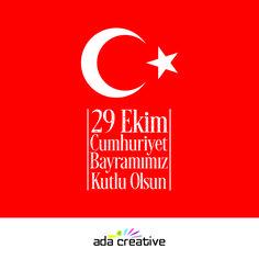 Ulu önderimiz Gazi Mustafa Kemal Atatürk'ün aramağan ettiği bu en anlamı günümüz hepimize kutlu olsun. #adacreative #29ekimcumhuriyetbayrami #gururluyuzcunkucumhuriyetcocuguyuz #adaajans #bursadareklam #reklamajansi