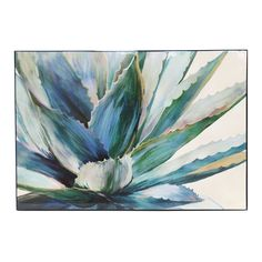 Lacquer Print Agave | 70x50cm by Winter Wall Wonders on THEHOME.COM.AU