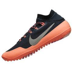 Nike Womens Free Hyperfeel Shoes Blue/silver * You can get more details by clicking on the image.
