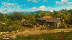 ArtStation - The Witcher Blood and Wine, Mark Foreman Witcher Art, The Witcher 3, Sci Fi Fantasy, Fantasy World, Dragon Rpg, Wild Hunt, Plant Growth, Environmental Design, The Expanse