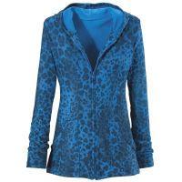 Blue Cheetah Hoodie