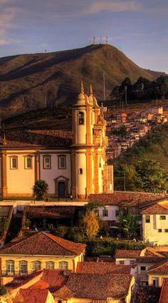 Ouro Preto - Brazil - è una città coloniale di Minas Gerais Stato di Minas…