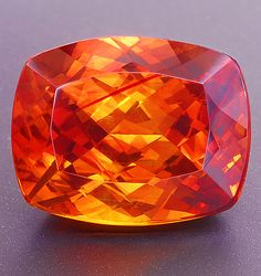 Gem quality sphalerite is a rare collector stone. The mineral is usually nearly black in color but is occasionally found in transparent pieces of an orange or yellowish brown hue.