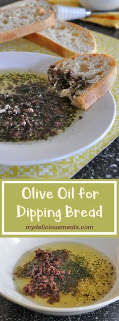 Olive Oil for Dipping Bread Olive Oil Dip For Bread, Olive Dip, Cookbook Recipes, Dip Recipes, Great Recipes, Herb Dip Recipe, Bread Dipping Oil, Game Day Food, Yummy Appetizers