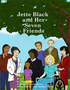 """If you have a child who is being teased about ANYTHING, get. . . """"Jette Black and Her Seven Friends"""" at www.GoodShortBooks.com. (It's written for kids ages 9-12.) Brilliantly illustrated and multi-ethnic!!"""