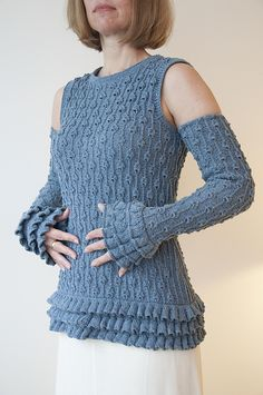Ravelry: Bells Top pattern by Linda Marveng