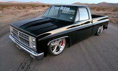 1982 Chevy C10 - Black Widow