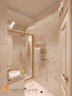 Фото интерьер санузла в детской из проекта «Дизайн четырёхкомнатной квартиры 200 кв.м. в классическом стиле, ЖК «Премьер Палас»»