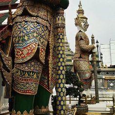 The signature pose at The Grand Palace, Bangkok