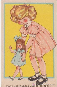 Colección María Claret. Tengo una muñeca vestida de azul...