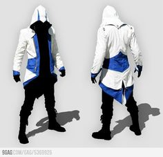 Assassin's Creed Jacket - You would have to stand epically every time you wore this.