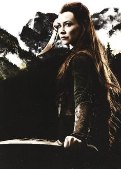 I love Tauriel, she is such a great role model for girls/women!:)