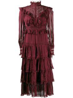 Red Midi Dress, Silk Dress, Dress Skirt, Classy Outfits, Chic Outfits, Classy Clothes, Little Girl Dresses, Girls Dresses, Dream Dress