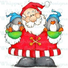 Santa's Feathered Friends