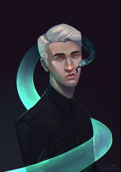 Draco and his poison. Magia Harry Potter, Draco Harry Potter, Harry Potter Drawings, Harry Potter Characters, Harry Potter Universal, Harry Potter World, Dramione, Drarry, Tom Felton