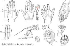 again, drawing hands