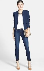 The must have navy blazer - great fit and price