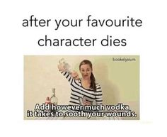 SPOILERS!-- >  >  >  >  >  >  > Sherlock (well before he came back), Sirius Black, Remus Lupin, Severus Snape, Ianto Jones from Torchwood, Francis from Reign, Allison from Teen Wolf, Jo from Vampire Diaries, Liz from Vampire Diaries, & Paul from Orphan Black---- all of these caused some serious tears!!!!