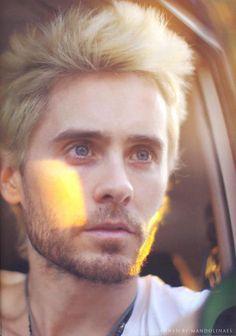 Jared Leto blonde in Haiti