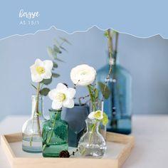 Stille Wasser sind tief! Glass Vase, Table Decorations, Elegant, Home Decor, Water, Classy, Chic, Decoration Home, Room Decor