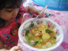 Seindah Biasa: Resepi sup tauhu telor