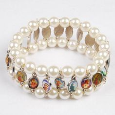 Catholic Jewelry / bracelets | , Rosary Bracelet, Catholic Rosary, Catholic Bracelet, Saint Bracelet ...