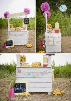 My Lemonade Stand Photo Shoot | Holly Springs, Georgia Photographer