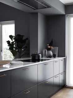 Bistro Kitchen, Kitchen Dining, Mexican Style Kitchens, Interior Design Kitchen, Dining Area, Minimalism, House Design, Cabinet, Furniture