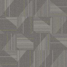 Pewter Detours Summary | Commercial Carpet Tile | Interface