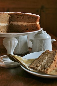 Parsnip and Maple Syrup Cake -- Vermont Maid - Great tasting maple syrup! - www.vermontmaid.com #cake #baking #recipe