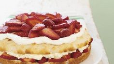 Simply Sensational Strawberry Shortcake - Fresh strawberries and a creamy pudding filling make this one of the best strawberry shortcakes you'll ever have! Enter the COOL WHIP Pin & Win Sweepstakes (Favorite Desserts Cool Whip) Just Desserts, Delicious Desserts, Dessert Recipes, Yummy Food, Strawberry Shortcake Recipes, Strawberry Recipes, Strawberry Preserves, Kraft Recipes, Bread Recipes