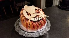 Hunger games. mr's b's classy cakes. Facebook page.