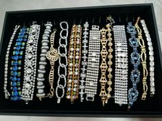 Array of vintage bracelets Friendship Bracelets, Retro, House, Vintage, Jewelry, Jewlery, Home, Jewerly, Schmuck