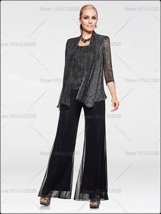 mother of the bride pantsuits | ... -Glitter-three-piece-mother-of-the-bride-pant-suits-customize.jpg