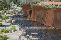 The Australian Gardenin Cranbourne, Victoria by Taylor Cullity Lethlean + Paul Thompson