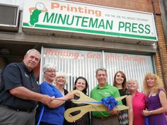Congratulations on the expansion and new conference room, Minuteman Press!