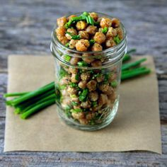 Cool Ranch Roasted Chickpeas!