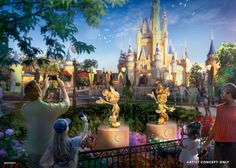 The 50th Anniversary Celebration Is Getting Even More Magical - News - Disney World News, Disney World Theme Parks, Disney Parks Blog, Disney World Resorts, Walt Disney World, Disney Tourist Blog, Disney Vacation Club, Disney Vacations, Disney Trips