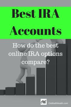 Best IRA Accounts. How do the best online IRA options compare? The best IRA accounts goals are to give the customer great investing options and low fees over a long-term. Right now is the best time to make your IRA contributions for the current tax season, and many of the top companies are competing for your business. Article Url - http://oddballwealth.com/the-best-ira-accounts-retirement-long-term-growth/ #Retirement #PersonalFinance #Investment