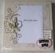 A simple canvas with wedding theme, meant to be a gift for an old friend who's tying the knot. This canvas features very pretty rhin. Scrapbook Canvas, Wedding Album, Tie The Knots, Mini Albums, Bing Images, Crafty, Frame, Projects, Pink