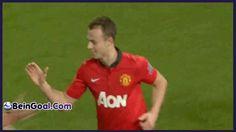 Goal Evans - Manchester United 1-0 Sunderland - 22-01-2014 Highlights | BeinGoal.Com