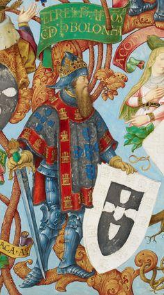 REI DE PORTUGAL D. AFONSO III (1210/17- 1279), O BOLONHÊS. Casou c D. Matilde II de Bolonha (1202-1258) + D. Beatriz de Castela e Gusmão (1242-1303)