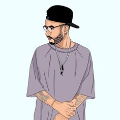 Cute Cartoon Boy, Dope Cartoon Art, Cool Pictures For Wallpaper, Arte Cholo, Trill Art, Dope Cartoons, Boy Photography Poses, Mobile Photography, Portrait Cartoon