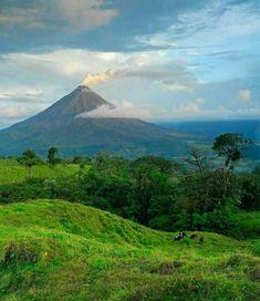 Volcán Arenal , Costa Rica.